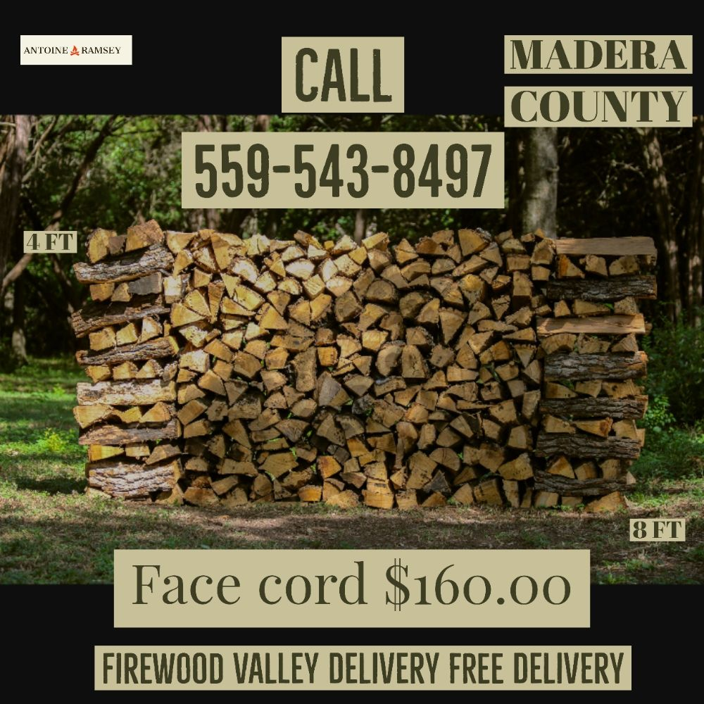 Firewood Valley Delivery: 15959 Marks, Caruthers, CA