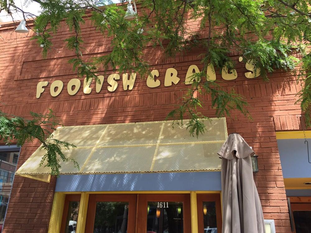 Foolish Craig's - Boulder, CO, United States. Front