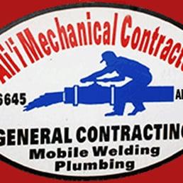 Alii mechanical contractors llc idraulici 470 e for Lucernari di hawaii llc