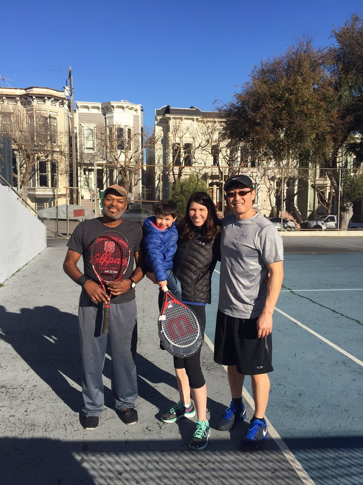 Photo of Tennis Lessons By Mcclain - San Francisco, CA, United States. Coach Mcclain and awesome clients