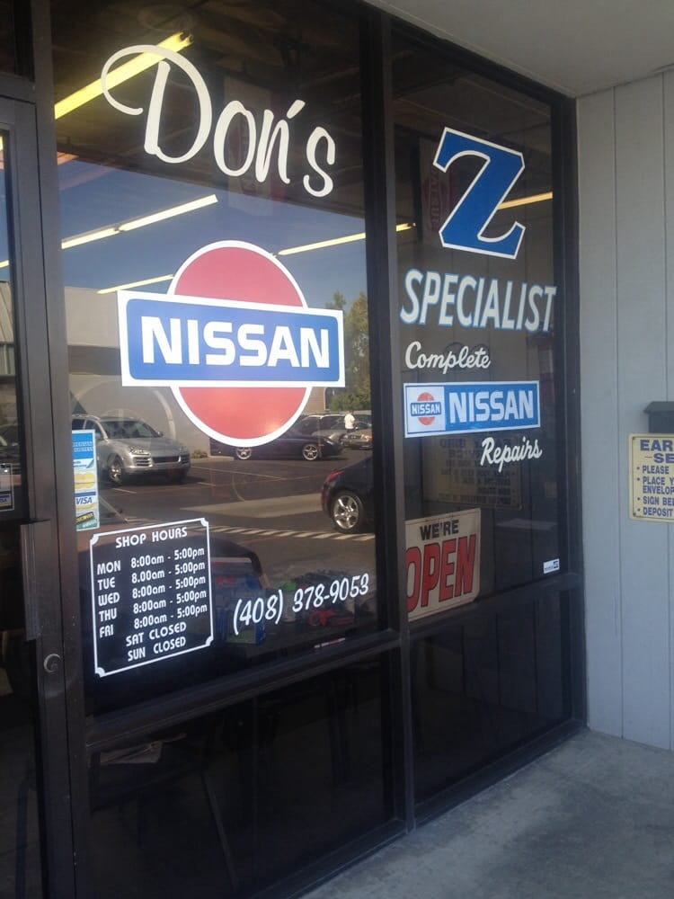Don's Nissan & Z Specialist: 2885 Winchester Blvd, Campbell, CA