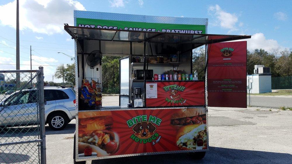 Bite Me Hotdogs and More: 1022 Blanding Blvd, Orange Park, FL