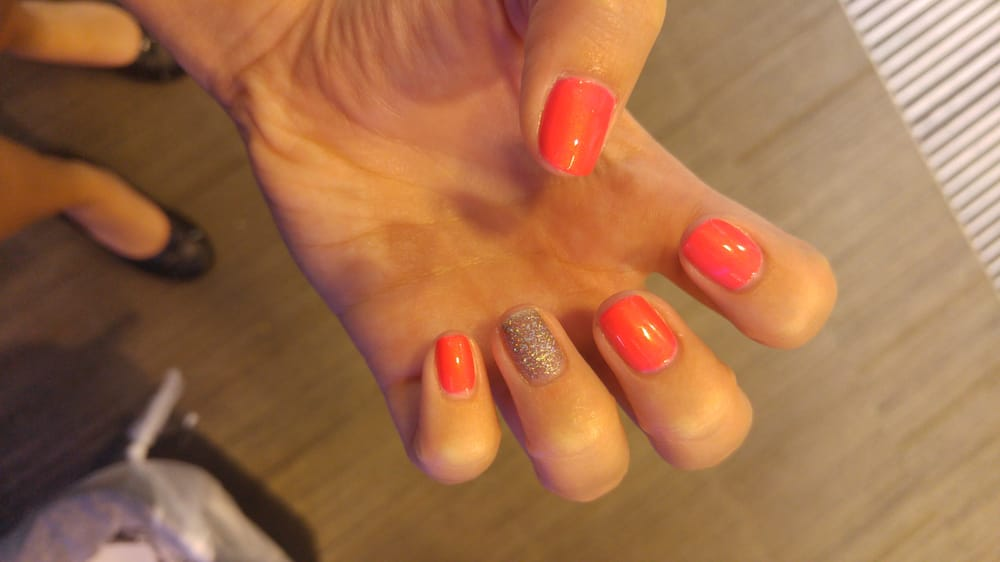 Thanks vivian for doing my nails quickly and thoroughly! - Yelp