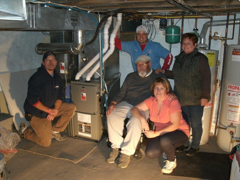 All American HVAC: N2358 State Rd 28, Adell, WI