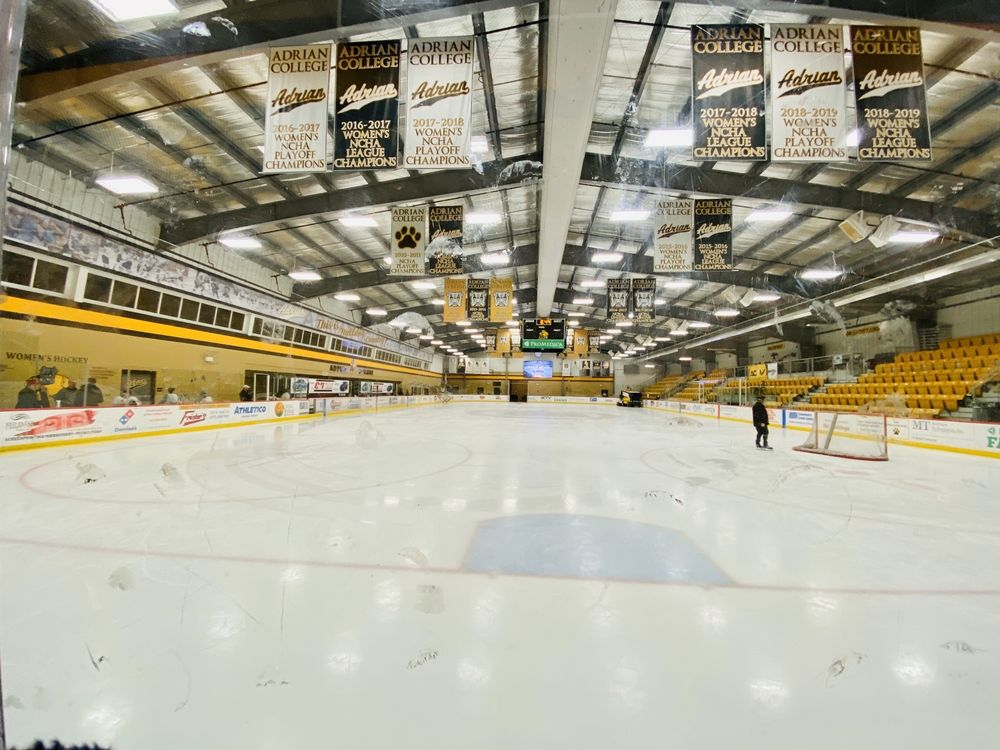 Arrington Ice Arena: 110 S Madison St, Adrian, MI