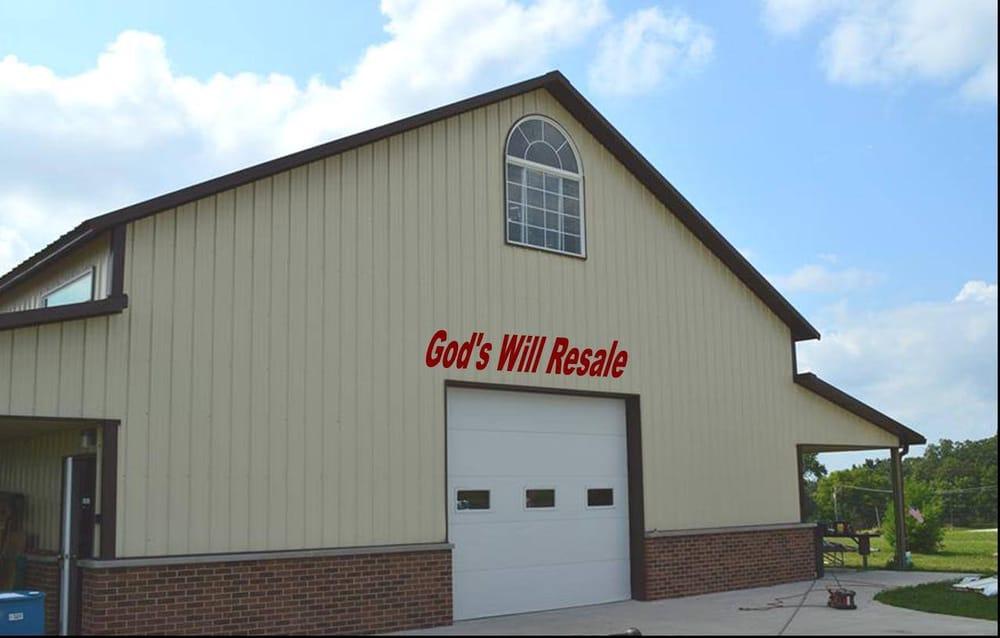 God's Will Resale Shop: 500 Depot St, Antioch, IL