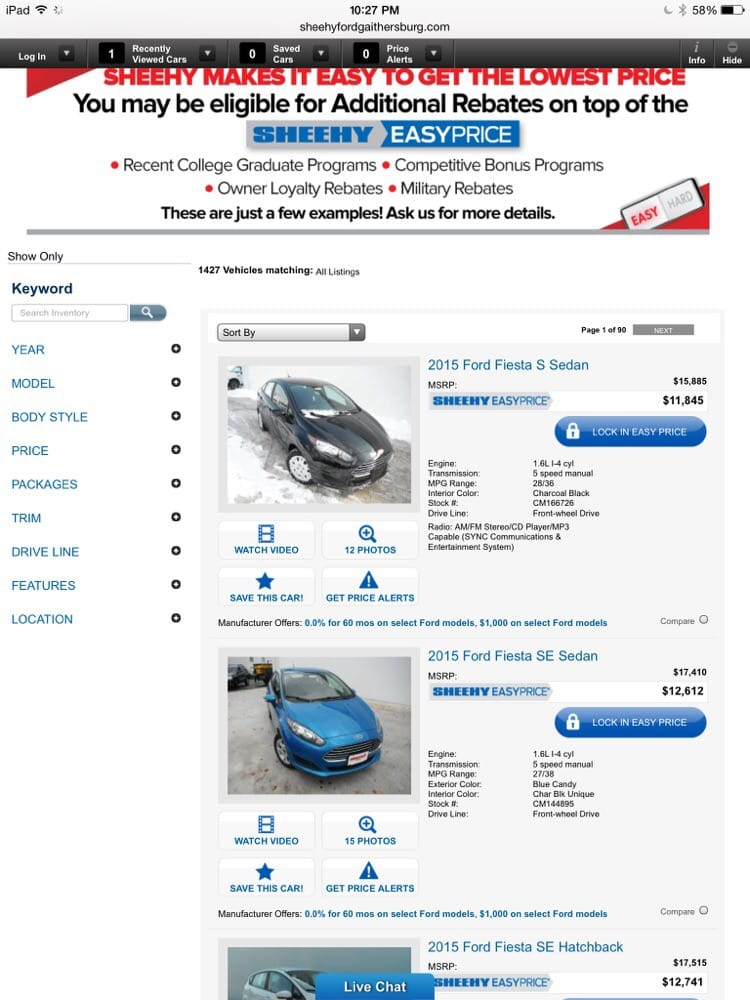 sheehy ford of gaithersburg 11 photos 72 reviews car dealers. Cars Review. Best American Auto & Cars Review