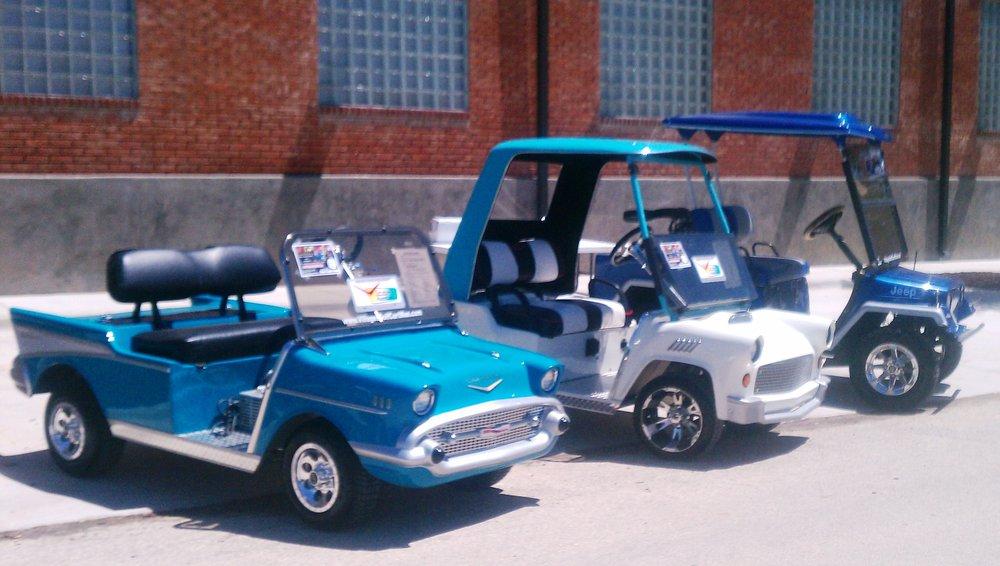 villages golf cart man: 3028 North County 470, lake panasoffkee, FL