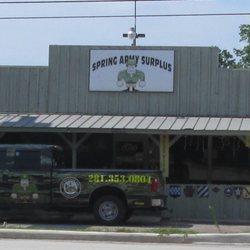 Spring Army Surplus - Military Surplus - 1130 Spring Cypress