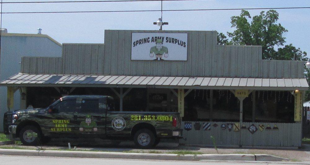 Spring Army Surplus: 1130 Spring Cypress Rd, Spring, TX