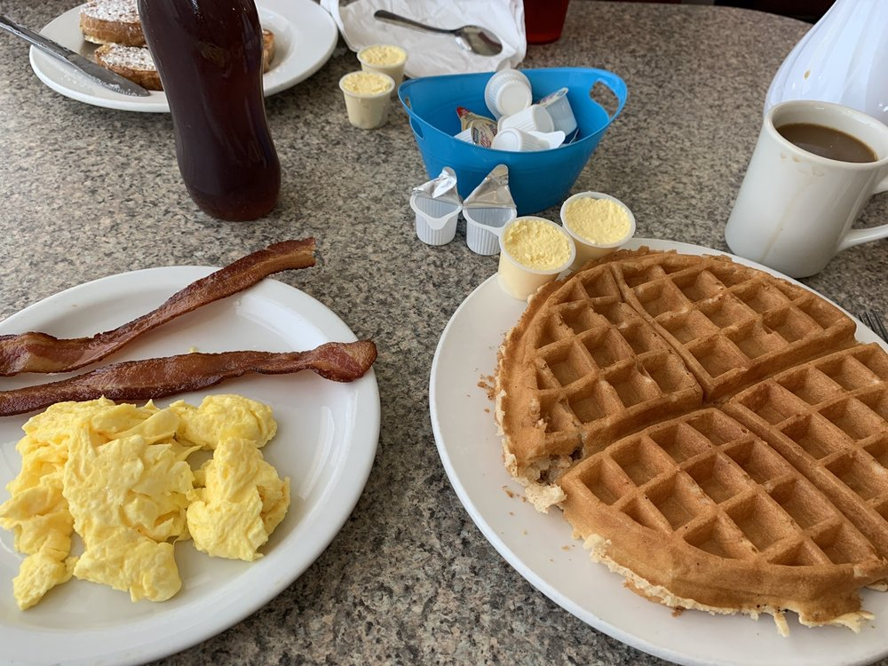 The Waffle Spot: 1101 Country Club Dr, Madera, CA