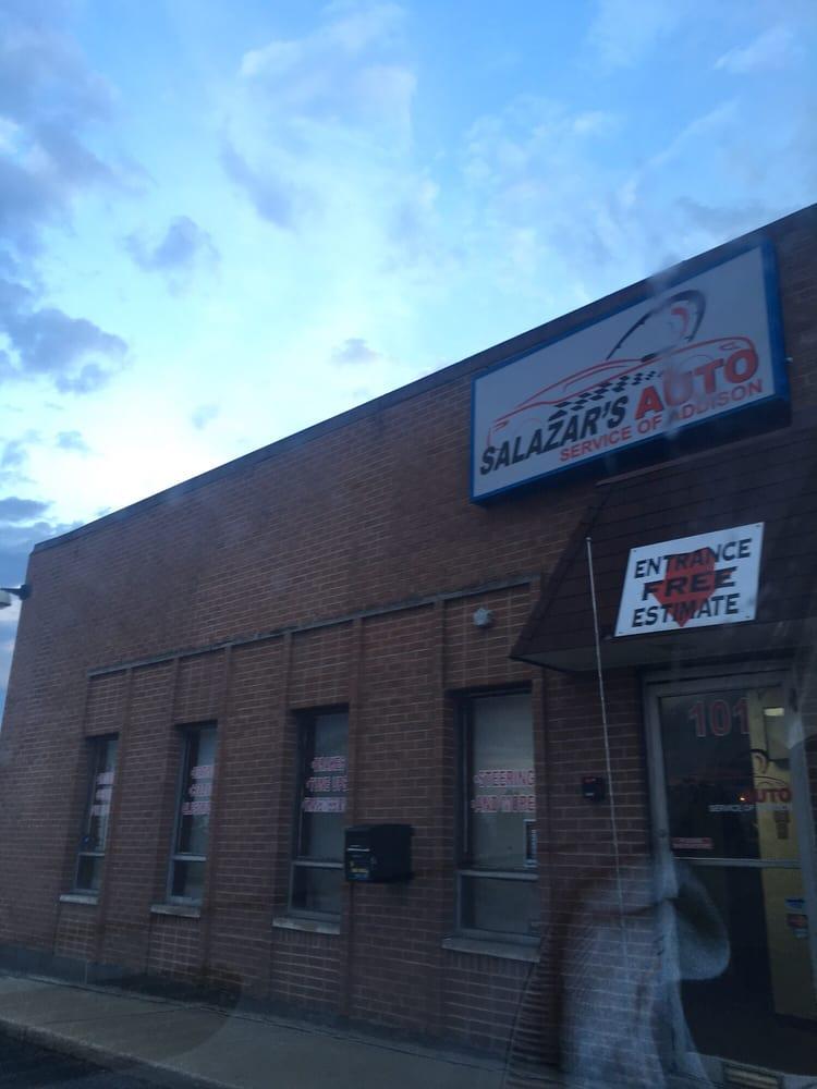 Salazar's Auto: 101 W Fullerton Ave, Addison, IL