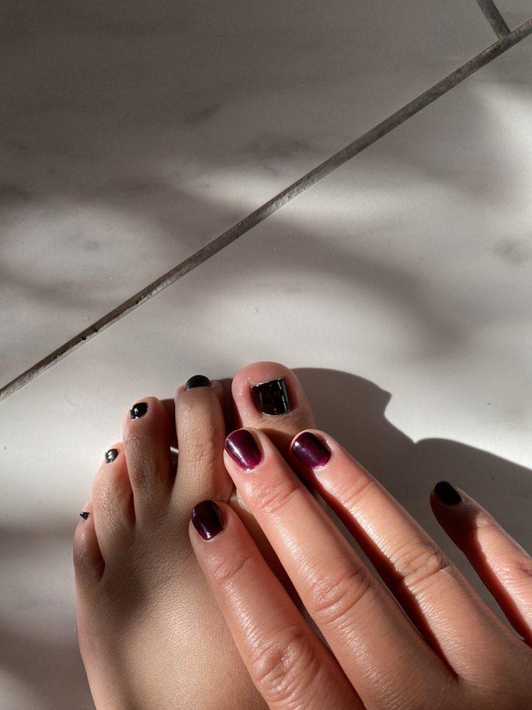 PS Nails & Spa: 486 Centre St, Jamaica Plain, MA