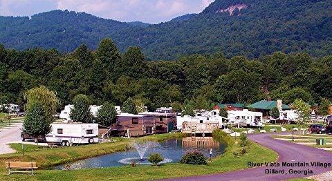 River Vista Rv Resort: 20 River Vista Dr, Dillard, GA