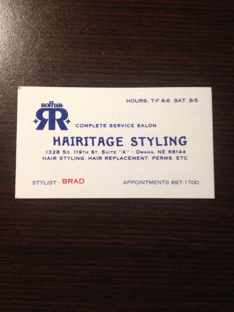 Hairitage Styling: 1328 S 119th St, Omaha, NE
