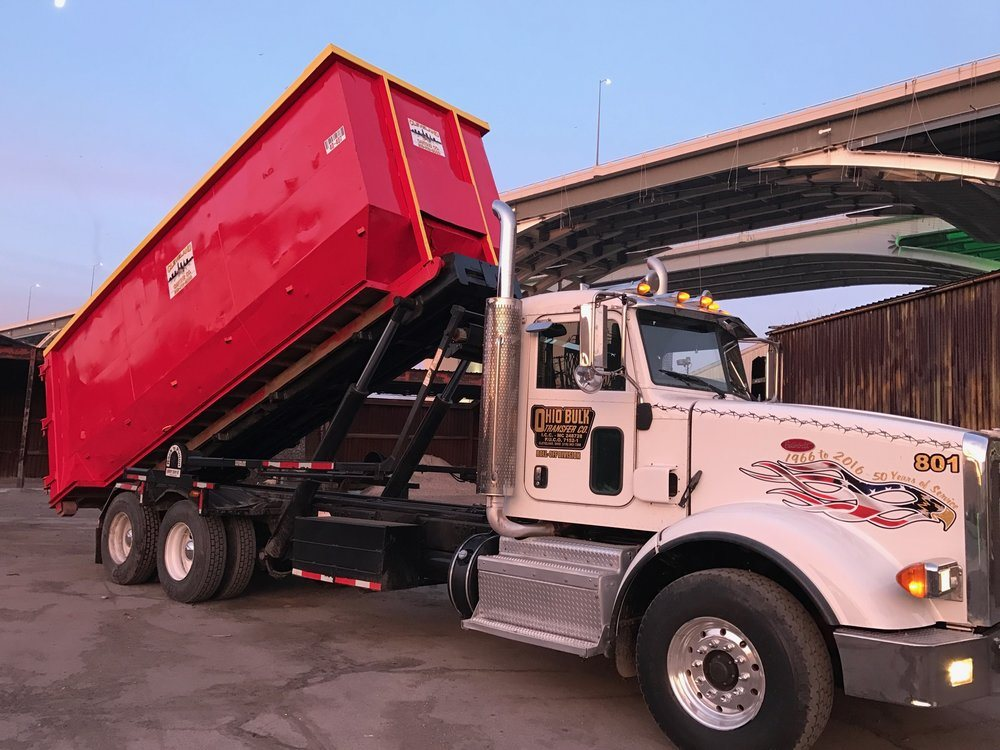 Cleveland carting location de benne ordures 2070 w for Location benne a ordure