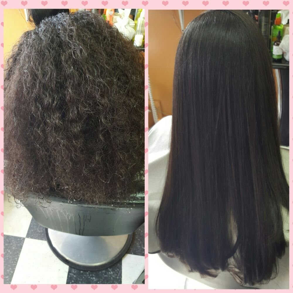Silk Press On Natural Hair Yelp