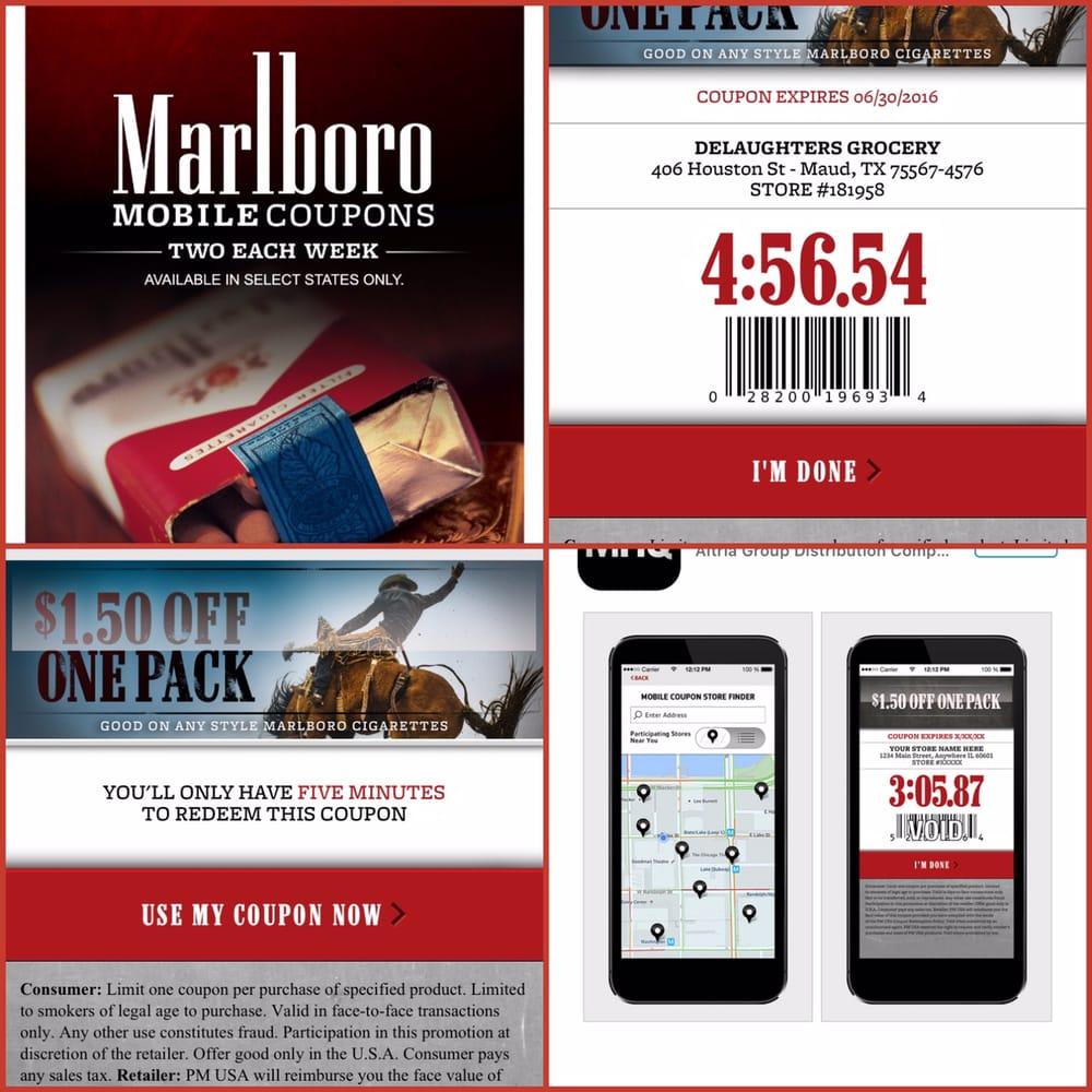 Marlboro coupon codes