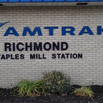 Po Of Amtrak Staples Mill Road Richmond Va United States Station
