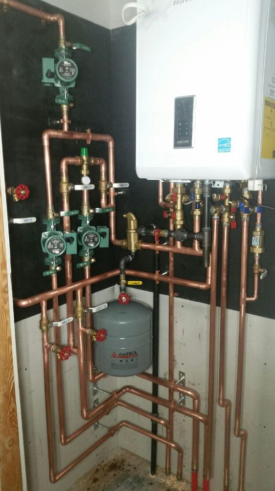 New combi boiler installation in Long Beach - Yelp