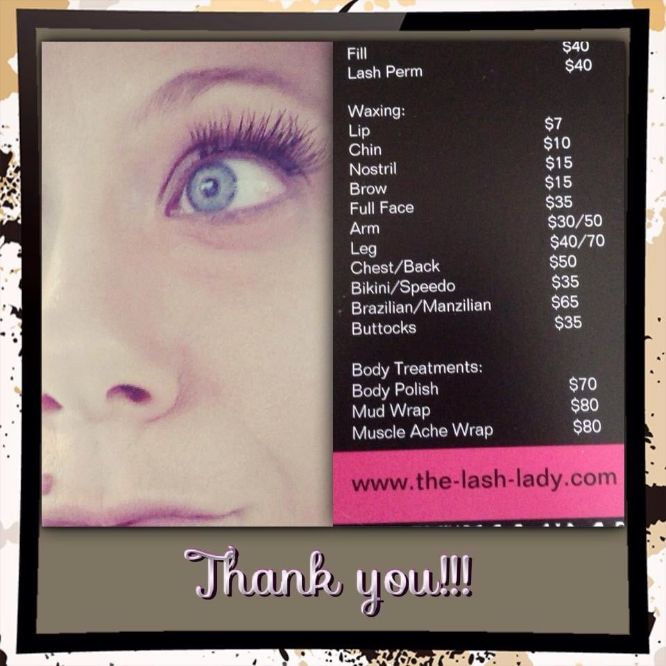 The Lash Lady Closed Eyelash Service 7 Oak Hill Ter