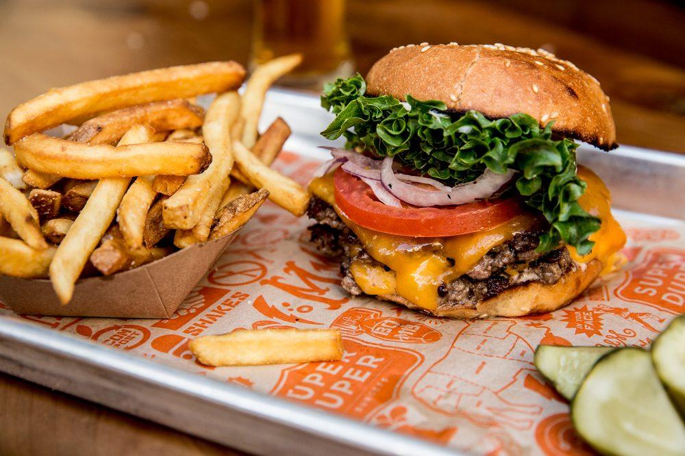 Food from Super Duper Burgers