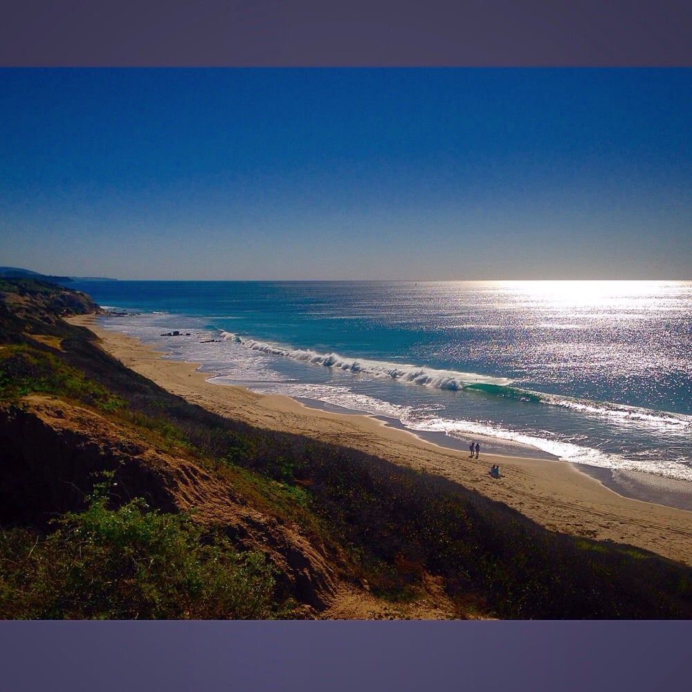 Crystal Beach: Crystal Cove State Beach