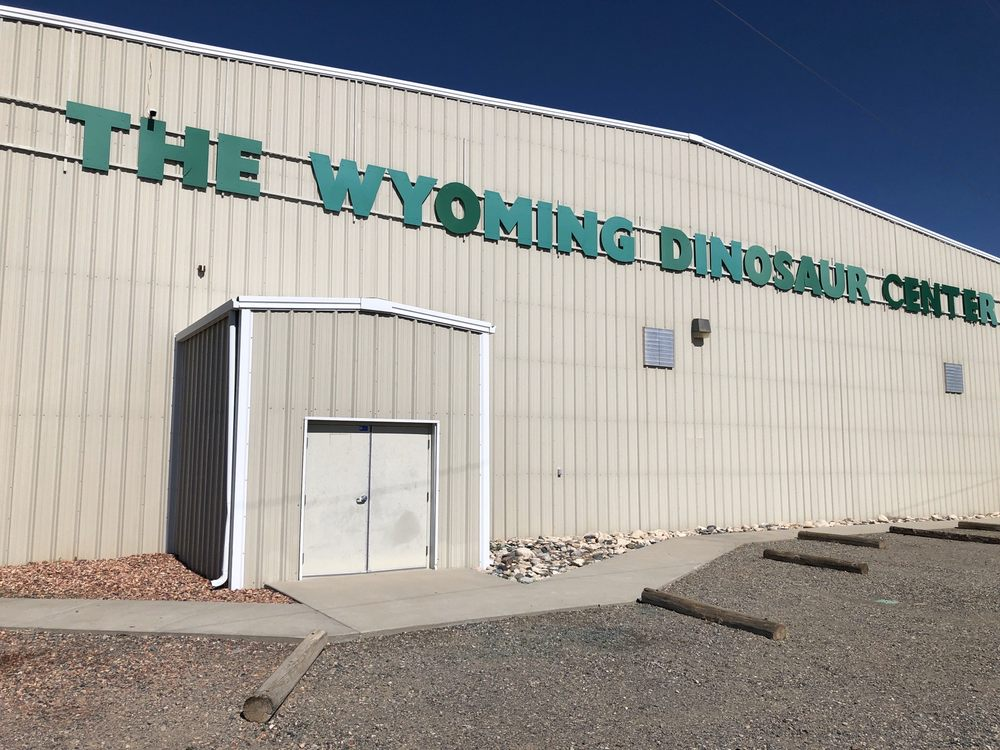 Wyoming Dinosaur Center: 110 Carter Ranch Rd, Thermopolis, WY