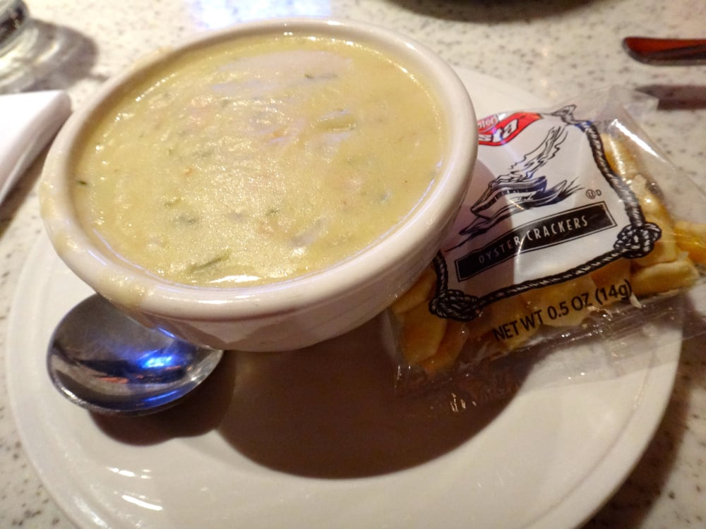 New england clam chowder yelp for Anthony s fish grotto san diego