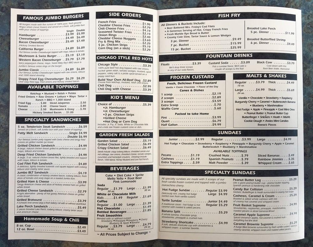 West Bend Fast Food Restaurants