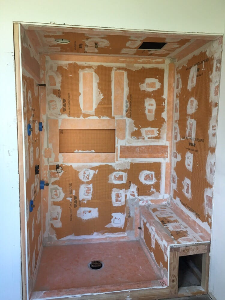 Photo Of JDM Tile Contractors   Piscataway, NJ, United States. Schluter  Systems Kerdi