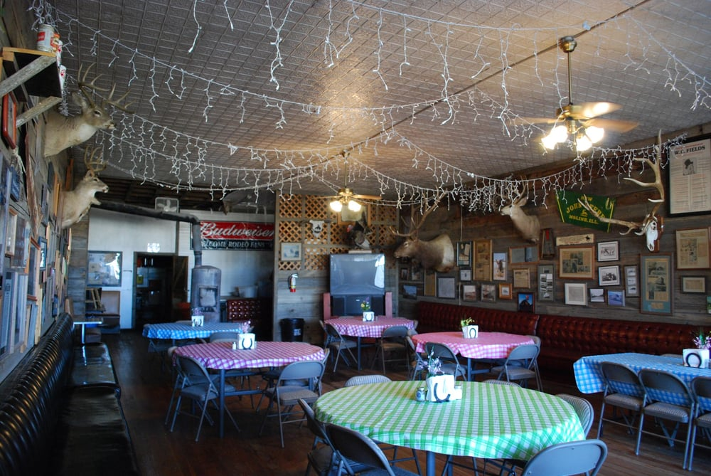 Jersey Lilly: 105 Main St, Ingomar, MT
