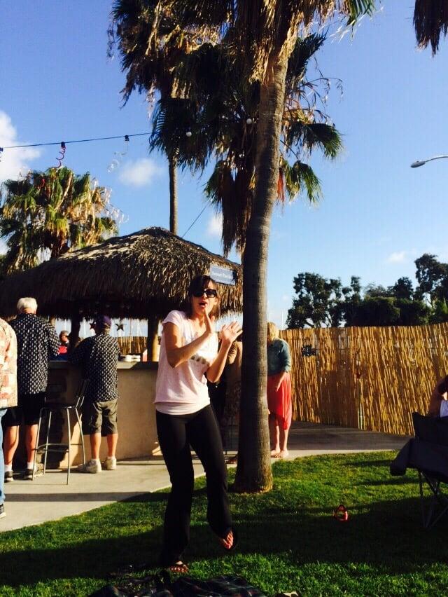 Chula Vista Rv Resort Special: Tay Tay Dancing And Enjoying The Band
