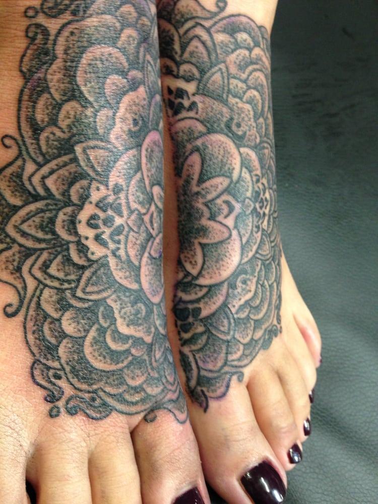 Geometric Black and Grey work by tattoo artist Cory James austin ...