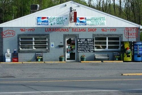Lucky's Corner Deli: 720 W Centre St, Shenandoah, PA