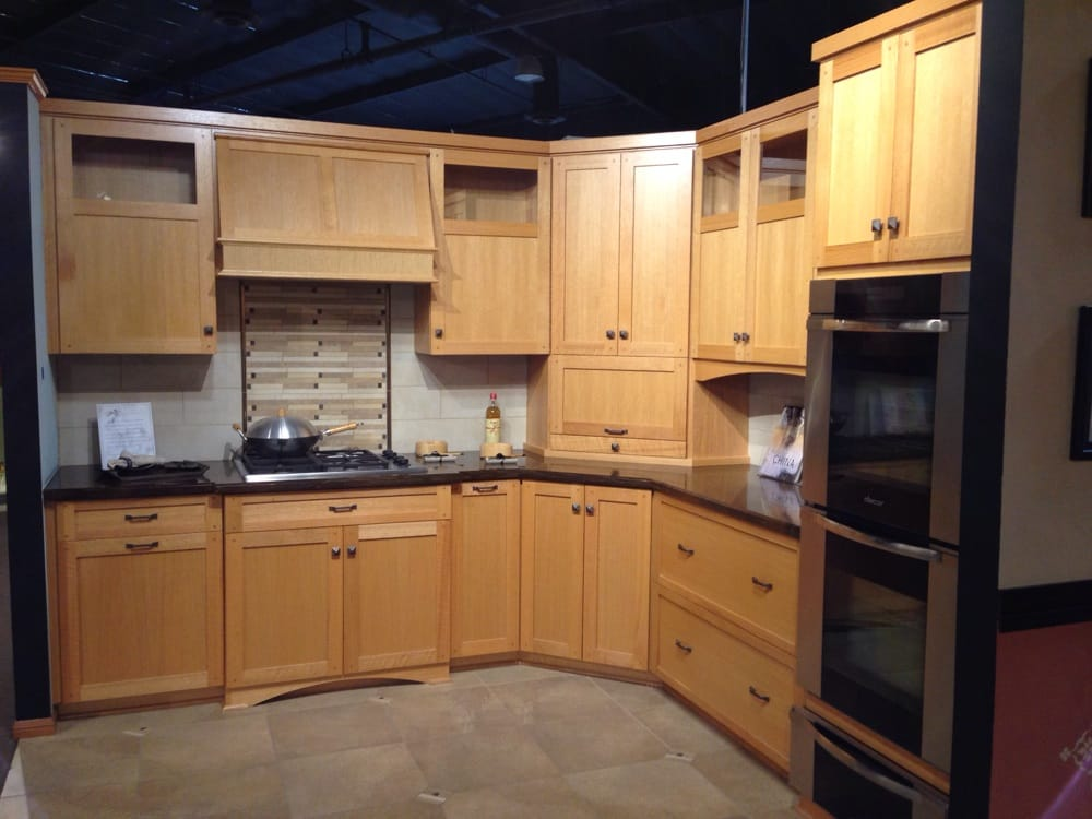 Transitional kitchen my wife liked - Yelp