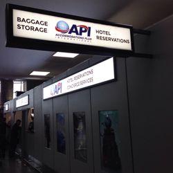 Api Baggage Storage 11 Reviews Luggage Storage Van
