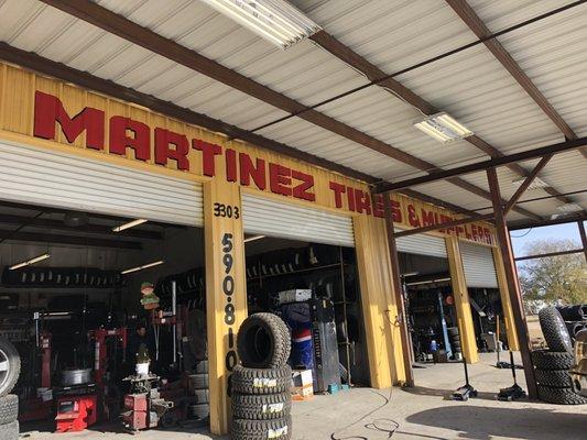Martinez S Tire And Muffler Shop 3303 Nacogdoches Rd San Antonio Tx