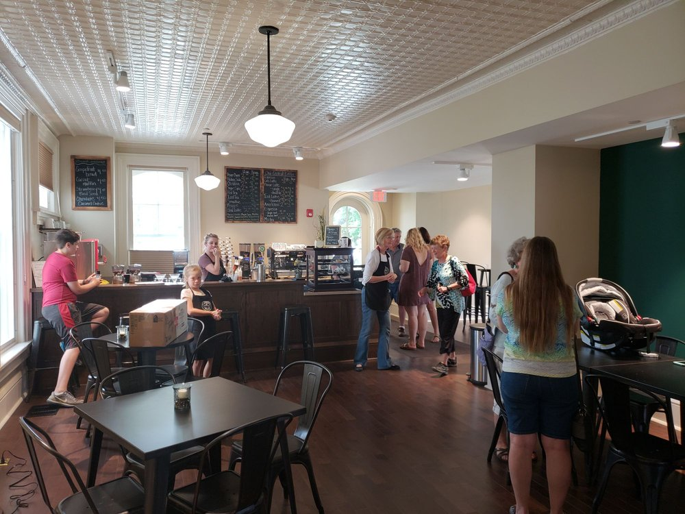 Old Central Coffee: 200 N 7th St, Osage, IA