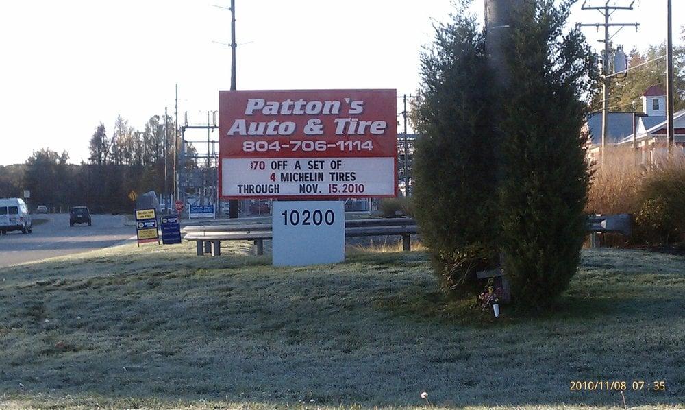 Patton's Auto & Tire: 10200 Chester Rd, Chester, VA