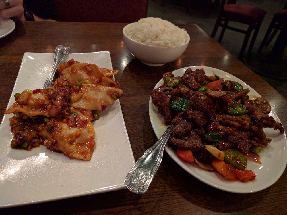 Dumplings And Szechuan Beef Yelp