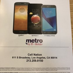 Metro PCS - Mobile Phones - 611 S Broadway, Downtown, Los Angeles