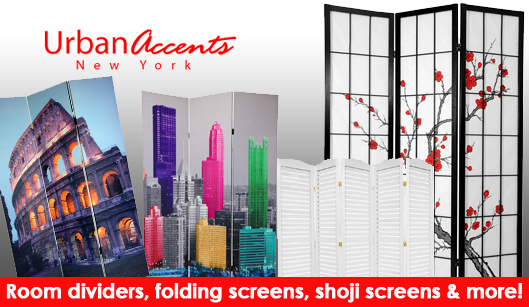 double sided art print room dividers and folding screens Multiple