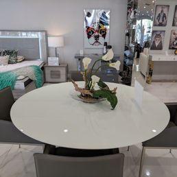 Photo Of Sobe Furniture Boca Raton Fl United States Round White Dining