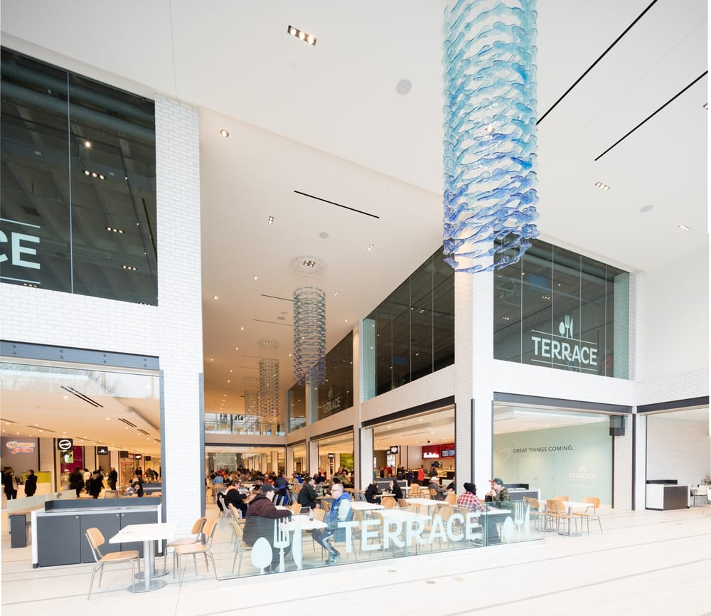 New Town Plaza Food Court In Hong Kong: Terrace Is Our Brand New Food Court. It Opened In May 2016