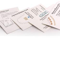 American business card print media 7400 e tierra buena ln photo of american business card scottsdale az united states colourmoves