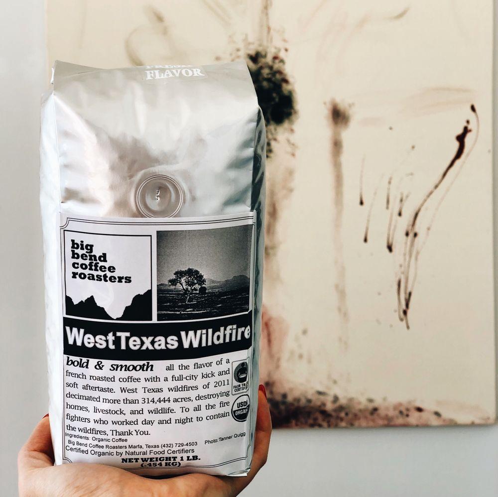 Big Bend Coffee Roaster's: 510 W San Antonio St, Marfa, TX