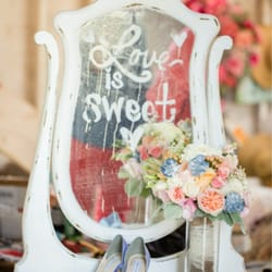 photo of simple country wedding and vintage decor rentals rancho cordova ca