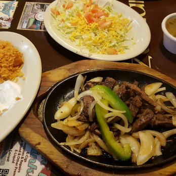 Photo Of Mazatlan Restaurant Denton Tx United States Beef Fajitas Meat