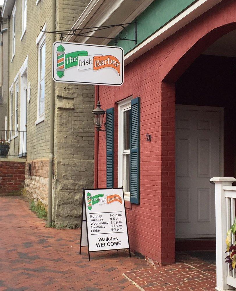 The Irish Barber: 22 North Main St, Lexington, VA